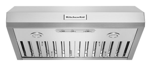 "Image of KitchenAid® 30"" 585 CFM Motor Class Commercial-Style Under-Cabinet Range Hood System"
