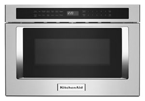 stainless steel 24 under counter microwave oven drawer kmbd104gss rh kitchenaid com