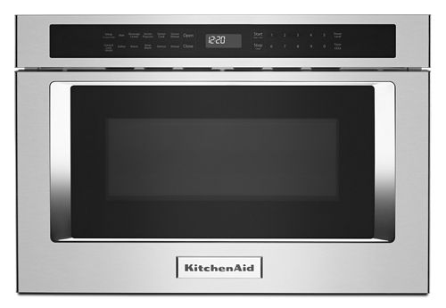 Stainless Steel 24 Under Counter Microwave Oven Drawer Kmbd104gss