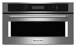 stainless steel 30 built in microwave oven with convection cooking rh kitchenaid ca