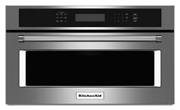 Stainless Steel 30 Built In Microwave Oven With Convection Cooking