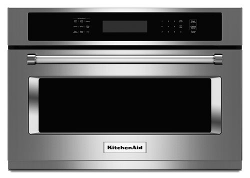 Stainless Steel 24 Built In Microwave Oven With 1000 Watt Cooking Kmbs104ess Kitchenaid