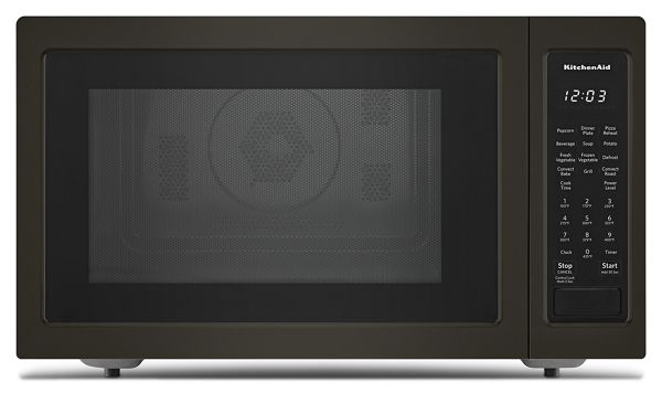 "KitchenAid® 21 3/4"" Countertop Convection Microwave Oven with PrintShield™ Finish - 1000 Watt"