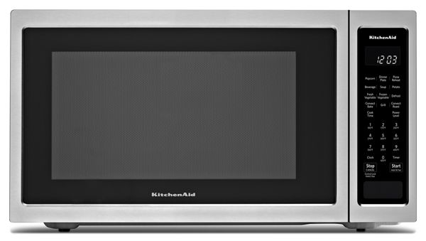 "KitchenAid® 21 3/4"" Countertop Convection Microwave Oven - 1000 Watt"