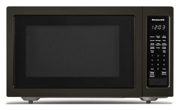 "KitchenAid® 21 3/4"" Countertop Microwave Oven with PrintShield™ Finish - 1200 Watt"