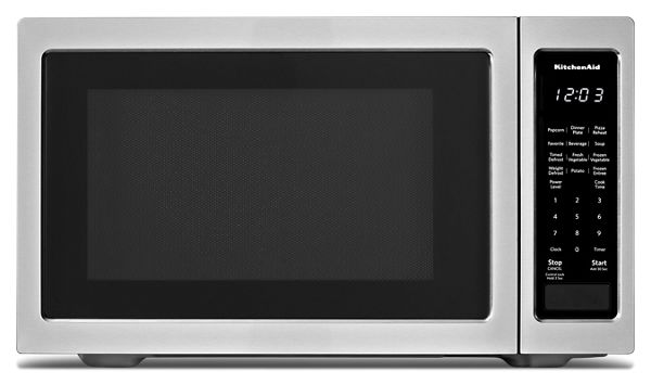 "KitchenAid® 21 3/4"" Countertop Microwave Oven - 1200 Watt"