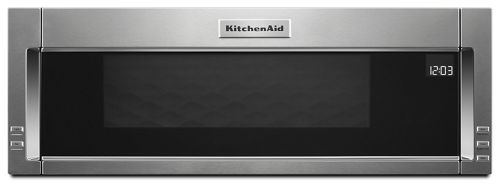 Stainless Steel 1000 Watt Low Profile Microwave Hood Combination