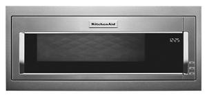 900 Watt Built-In Low Profile Microwave with Slim Trim Kit