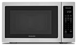 """KitchenAid® 21 3/4"""" Countertop Microwave Oven - 1100 Watt"""