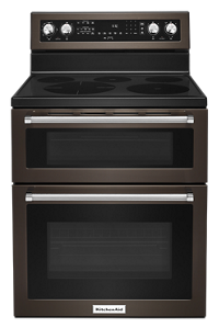 Double Oven Gas Electric Amp Dual Fuel Ranges Kitchenaid