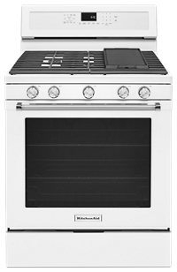 Charmant 30 Inch 5 Burner Gas Convection Range