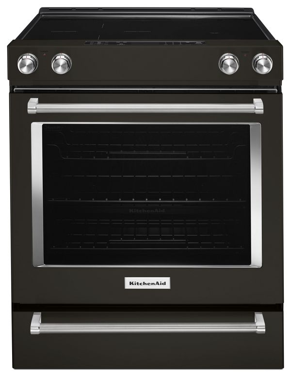 Image of KitchenAid® 30-Inch 5-Element Electric Slide-In Convection Range