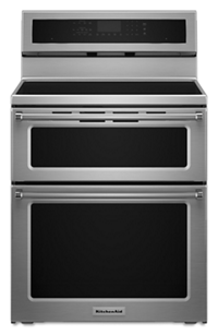 30-Inch 4 elements Induction Double Oven Convection Range