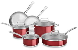 candy apple red stainless steel 10 piece set kc2ss10pc kitchenaid rh kitchenaid com
