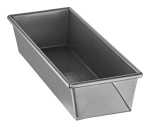 Professional-Grade Nonstick 12inchesx4inchesx2.5inches Snacking Loaf Pan