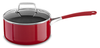 Aluminum Nonstick 3.0 quart Saucepan with Lid