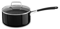 Aluminum Nonstick 3.0-Quart Saucepan with Lid