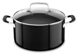 Aluminum Nonstick 6.0 Quart Stockpot with lid