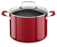 Aluminum Nonstick 8.0 quart Stockpot with Lid