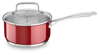 Stainless Steel 1.9L Nonstick Saucepan with lid