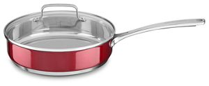 Stainless Steel 3.3 Quart Saute Pan with lid