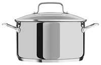 6.0 Quart Low Casserole with lid