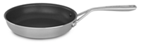 "Tri-Ply Stainless Steel 10"" Skillet with Nonstick"