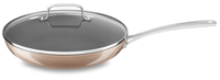 "12"" Hard Anodized Non-Stick Skillet with lid"