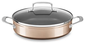 3.3 Quart Hard Anodized Non-Stick Braiser with lid