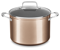 8 Quart Hard Anodized Non-Stick Stockpot with lid
