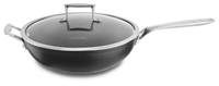 Professional Hard Anodized Nonstick 6.0-Quart Chefs Pan with Lid