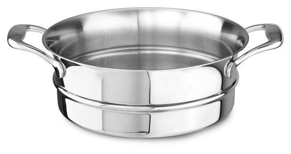 KitchenAid 18/10 Stainless Steel Steamer Insert