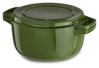 Professional Cast Iron 6-Quart Casserole