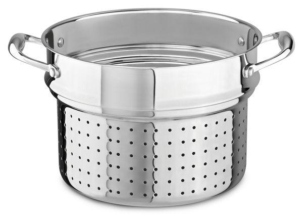 KitchenAid® 18/10 Stainless Steel Pasta Insert