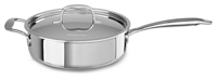 Tri-Ply Stainless Steel 3.3 L Sauté with Lid