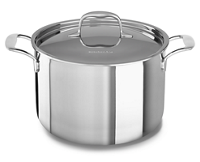 Tri-Ply Stainless Steel 7.5 L Stockpot with Lid