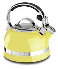 Tetera KitchenAid® con Esmalte de Porcelana 1.9 L - Color lima