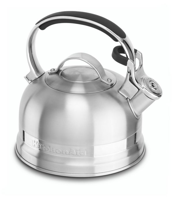 Image of KitchenAid® 2.0-Quart Kettle with Full Stainless Steel Handle and Trim Band