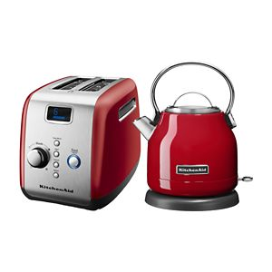 1.25 L Electric Kettle and Automatic Toaster Bundle