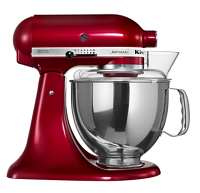 Artisan Design Series 4.8L Tilt-Head Stand Mixer plus complimentary Ice Cream Maker Attachment (5KICA0WH)