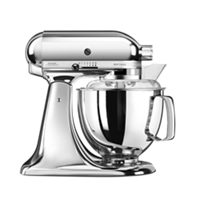 KitchenAid 5KSM175 4.8L Artisan Tilt-Head Stand Mixer