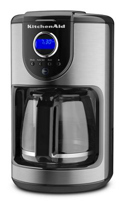 onyx black 12 cup coffee maker kcm111ob kitchenaid - Kitchen Aid Coffee Maker