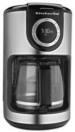 Onyx Black 12 Cup Coffee Maker Kcm1202ob Kitchenaid