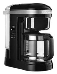 12 Cup Drip Coffee Maker with Spiral Showerhead