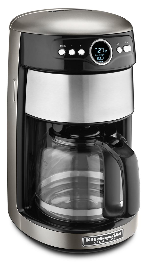 14 Cup Glass Carafe Coffee Maker