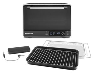 Dual Convection Countertop Oven with Air Fry and Temperature Probe