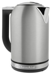 Brushed Stainless Steel 1 7 L Electric Kettle Kek1722sx Kitchenaid