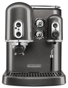 medallion silver pro line series espresso maker with dual rh kitchenaid ca