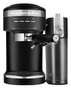 Semi-Automatic Espresso Machine and Automatic Milk Frother Attachment
