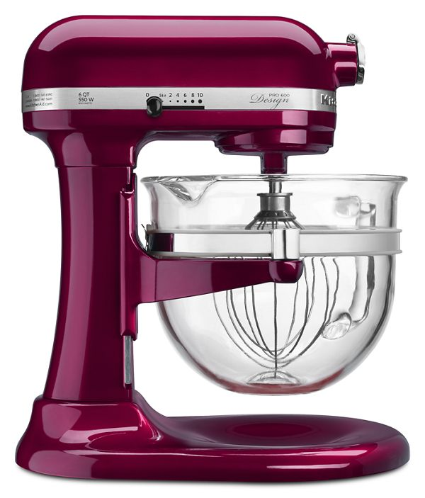 6 QT PRO 600 DELUXE STAND MIXER